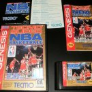 Tecmo Super NBA Basketball - Sega Genesis - Complete CIB