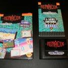 Menacer 6 Game Cartridge - Sega Genesis - Complete CIB