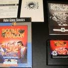 Double Dragon - Sega Genesis - Complete CIB - Rare