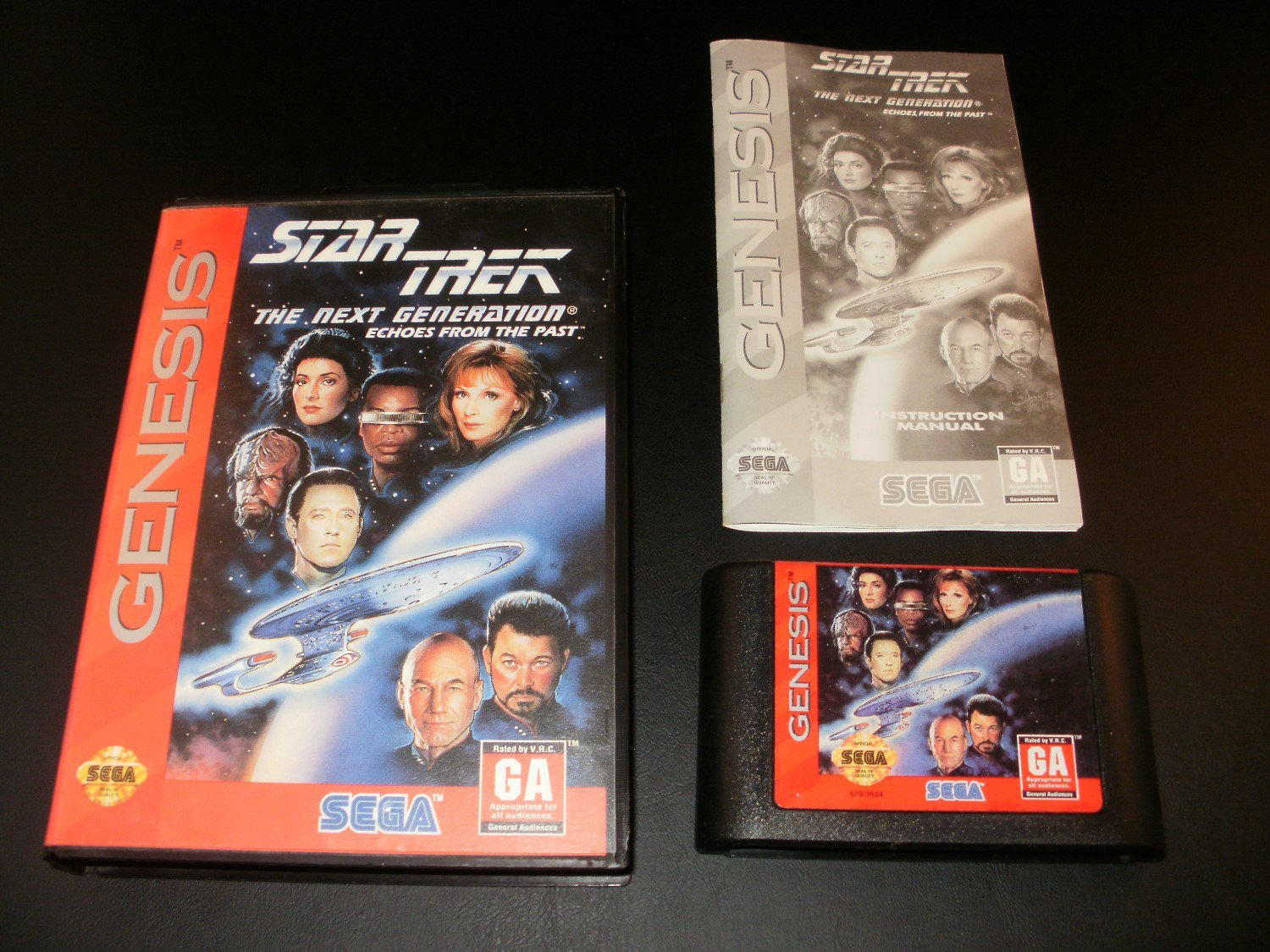 Star Trek The Next Generation - Sega Genesis - Complete CIB