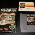 Wheel of Fortune - Nintendo NES - Complete CIB