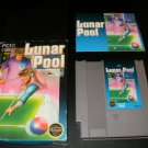Lunar Pool - Nintendo NES - Complete CIB - 3 Screw Round Seal Version
