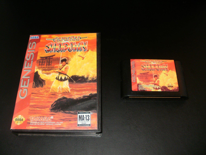 Samurai Shodown - Sega Genesis - With Box