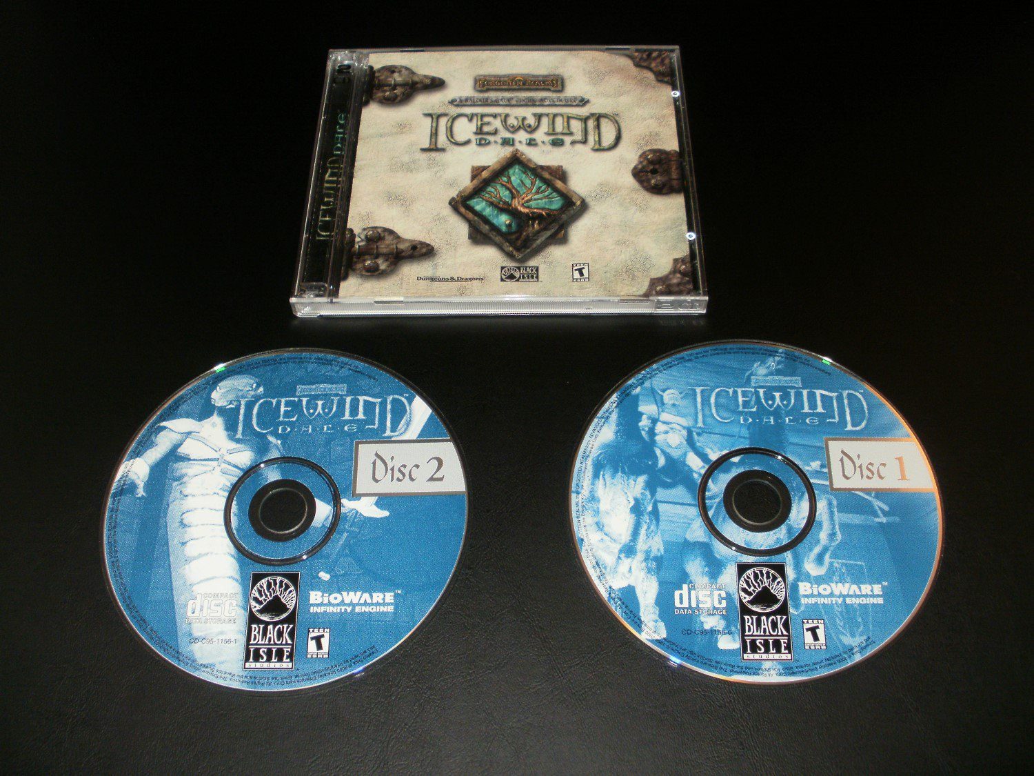 Icewind Dale - 2000 Interplay - IBM PC - With Case