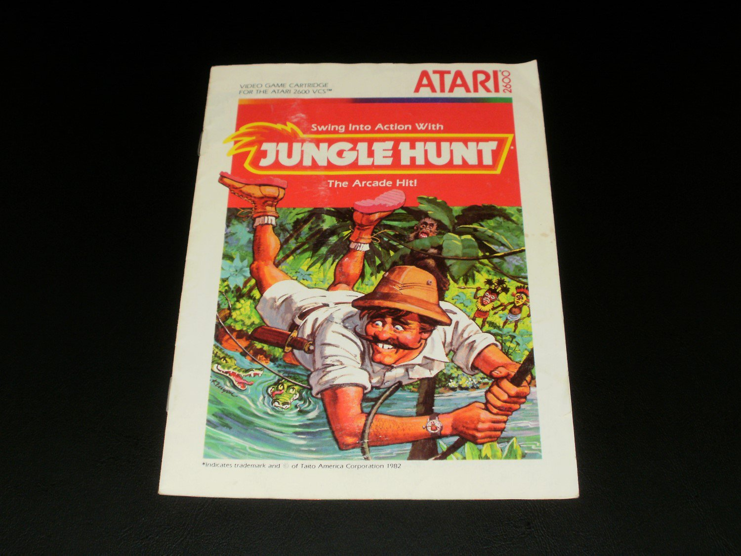 Jungle Hunt - Atari 2600 - Manual Only