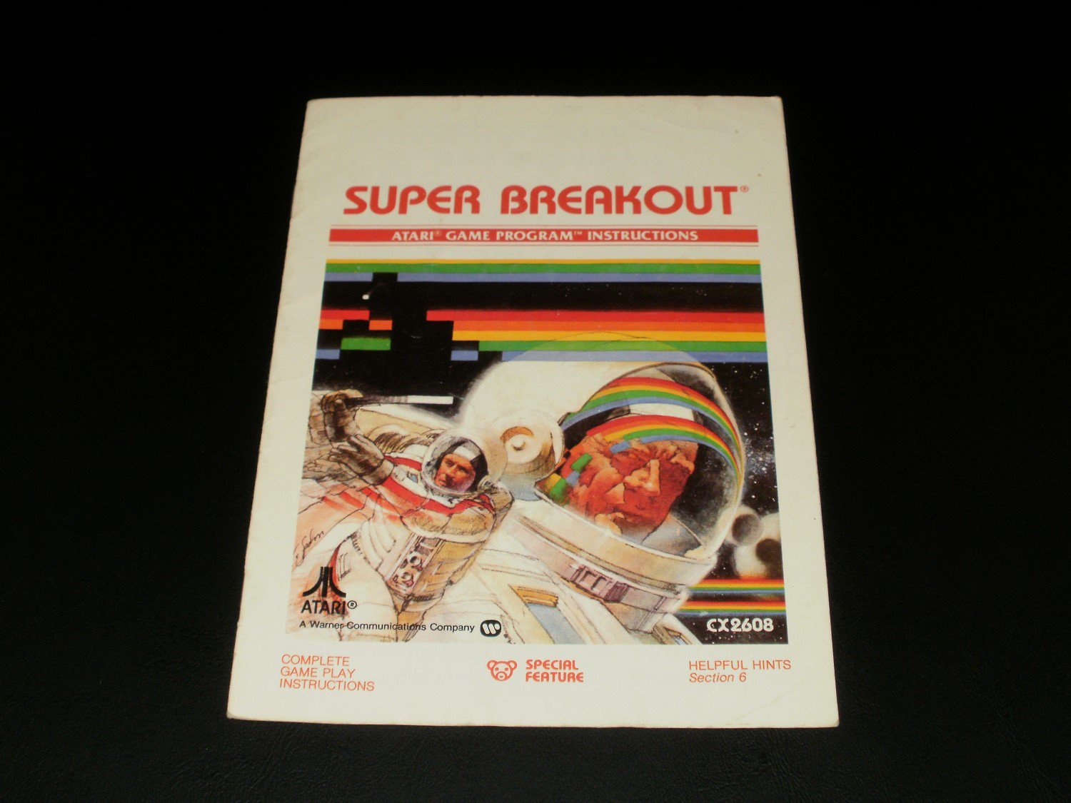 Super Breakout - Atari 2600 - Manual Only