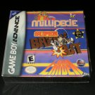 Millipede Super Breakout Lunar Lander - Game Boy Advance - Brand New