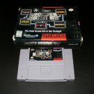 Williams Arcade's Greatest Hits - SNES Super Nintendo - With Box