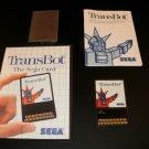 Transbot - Sega Master System - Complete CIB