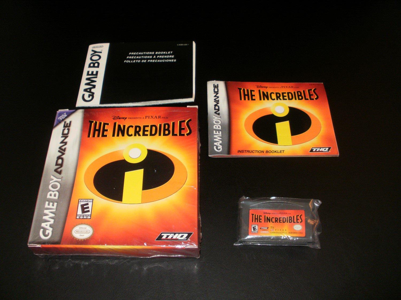 The Incredibles - Nintendo Game Boy Advance - Complete CIB