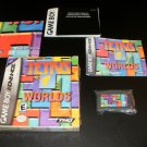 Tetris Worlds - Nintendo Game Boy Advance - Complete CIB