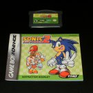 Sonic Advance 2 - Nintendo Game Boy Advance - With Manual