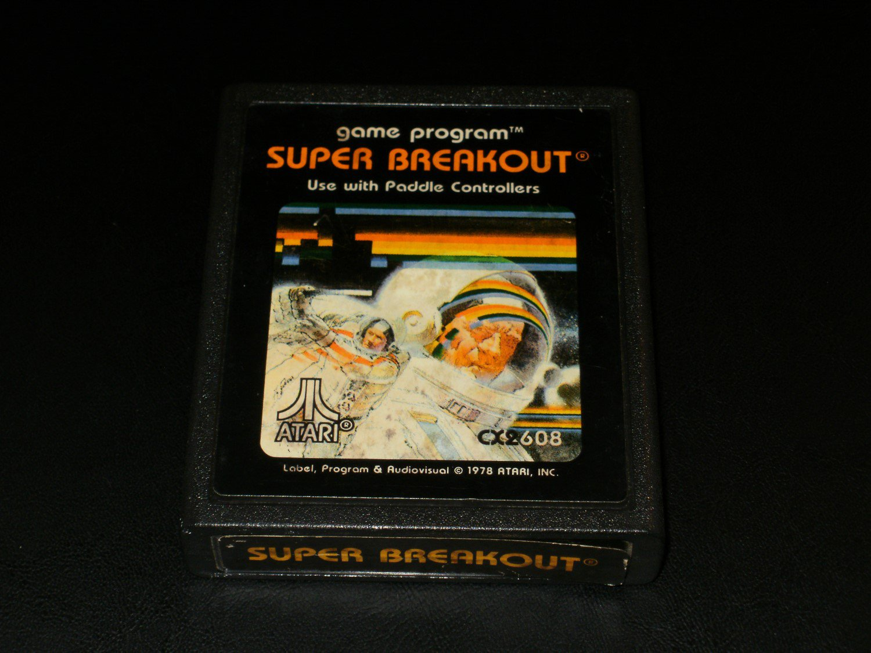 Super Breakout - Atari 2600