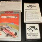 Pole Position II - Atari 7800 - Complete CIB