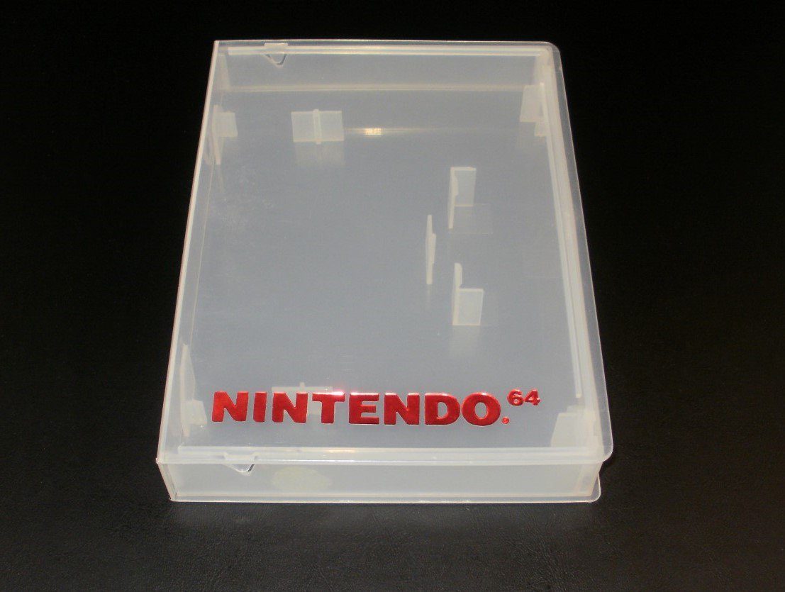 Video Game Preserver - N64 Nintendo - Officially Licensed Product - Clear