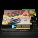 F-Zero - SNES Super Nintendo - Brand New Factory Sealed - Million Seller Rated K-A Version