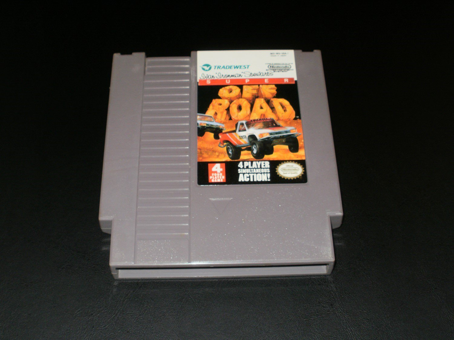 Super Off Road - Nintendo NES - Red 4-Player Logo Version