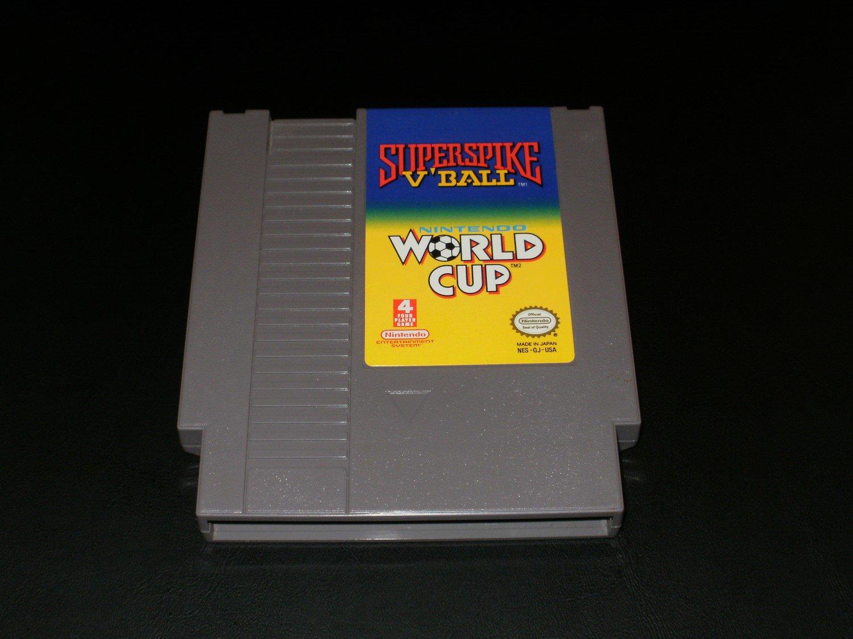 Super Spike V'Ball Nintendo World Cup - Nintendo NES