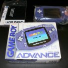 Game Boy Advance - 2001 Nintendo Handheld - Complete CIB - Indigo