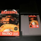 Tecmo Baseball - Nintendo NES - With Box & Cartridge Sleeve