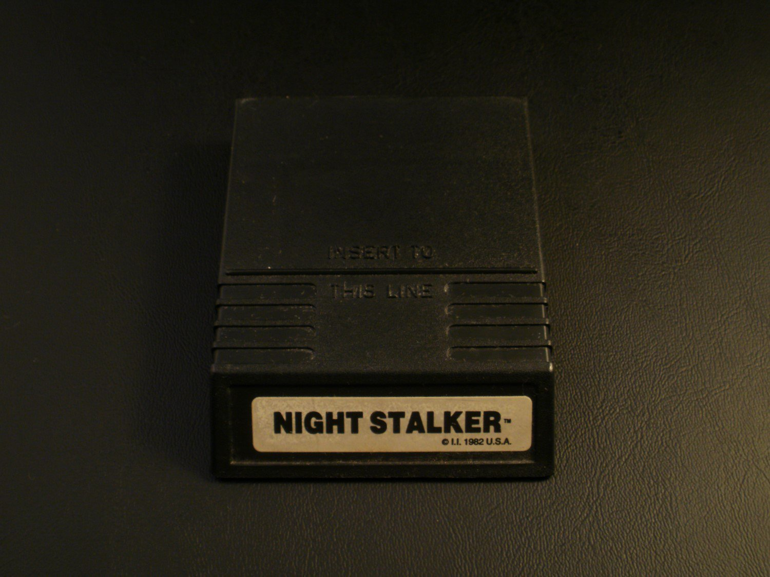 Night Stalker - Mattel Intellivision - White Label Version