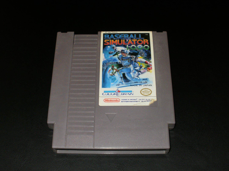 Baseball Simulator 1.000 - Nintendo NES