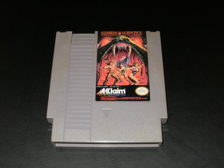 Swords and Serpents - Nintendo NES