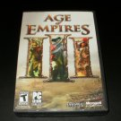 Age of Empires III - 2006 Microsoft Game Studios - IBM PC - Complete