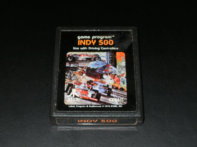 Indy 500 - Atari 2600 - 1981 Picture Label Version