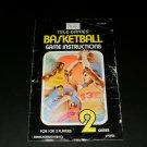 Basketball - Atari 2600 - Manual Only