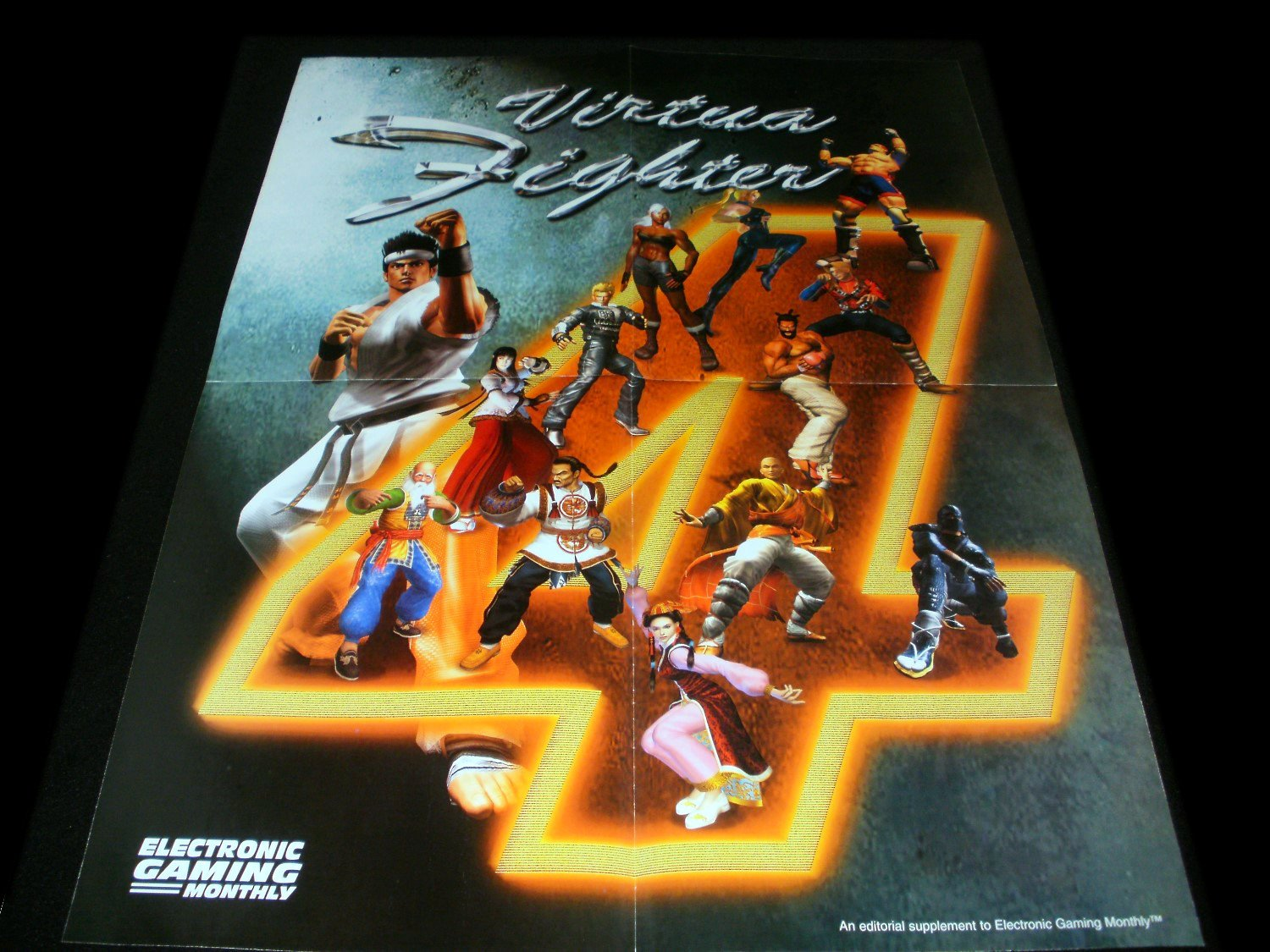Virtua Fighter 4 Poster - Electronic Gaming Monthly 2002