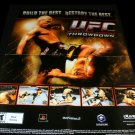 UFC Throwdown Poster - Electronic Gaming Monthly 2002