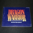 Dragon Warrior - Nintendo NES - Manual Only