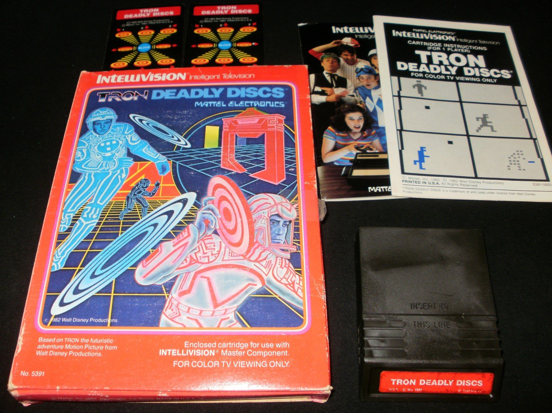 Tron Deadly Discs - Mattel Intellivision - Complete CIB