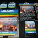 Atlantis - Mattel Intellivision - Complete CIB
