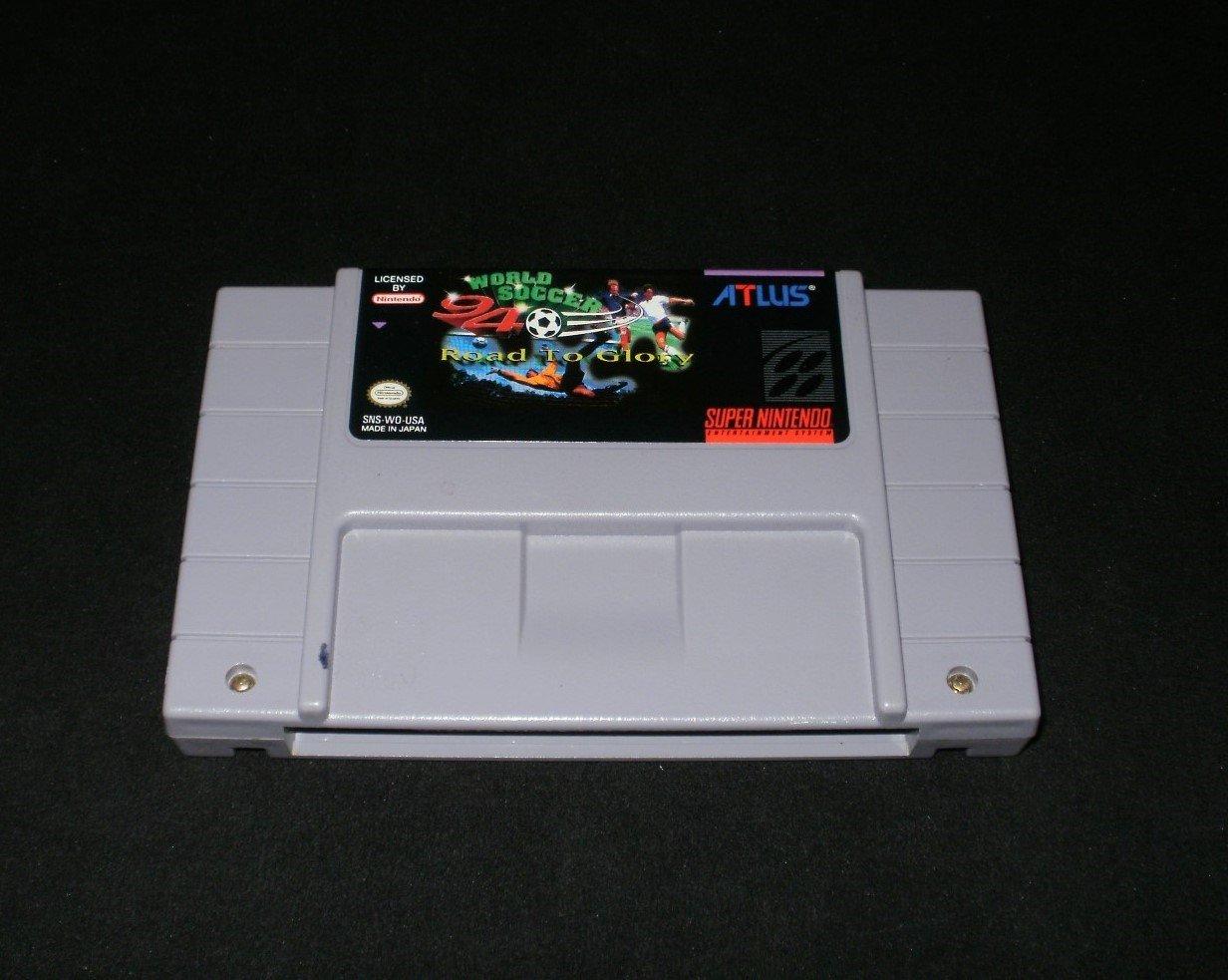 World Soccer 94 - SNES Super Nintendo - Rare