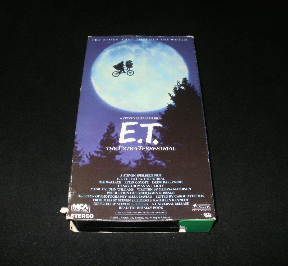 E.T. The Extra Terrestrial - VHS Movie - 1988 Green Door Release