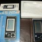 Slimline Speedway - Vintage Handheld - Tomy 1980 - Complete CIB - Rare