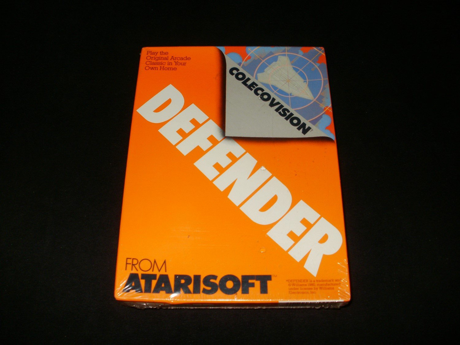 Defender - Colecovision - New Factory Sealed - Rare