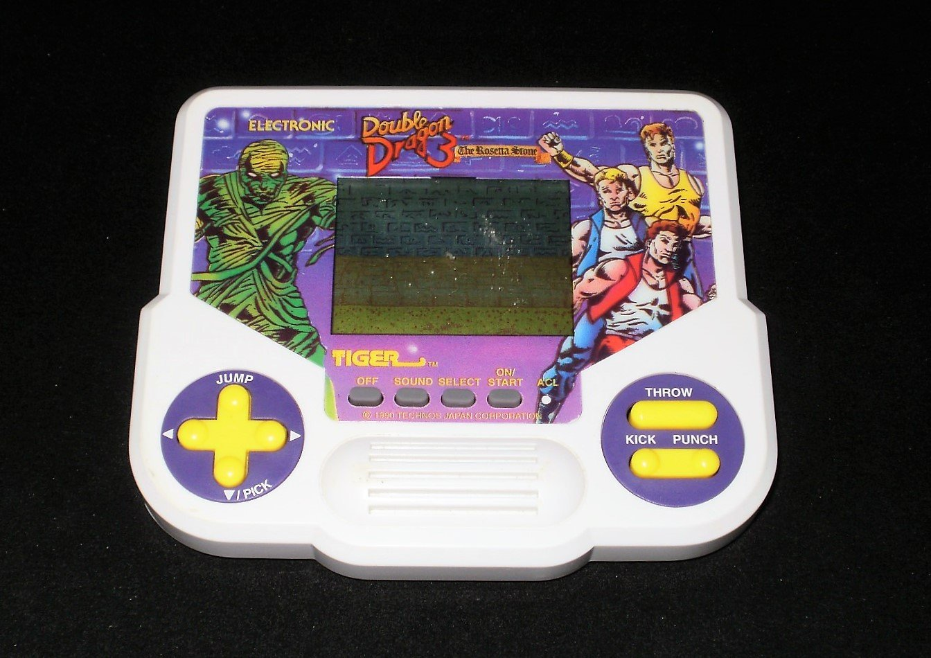 Double Dragon 3 - Vintage Handheld - Tiger Electronics 1991 - Refurbished