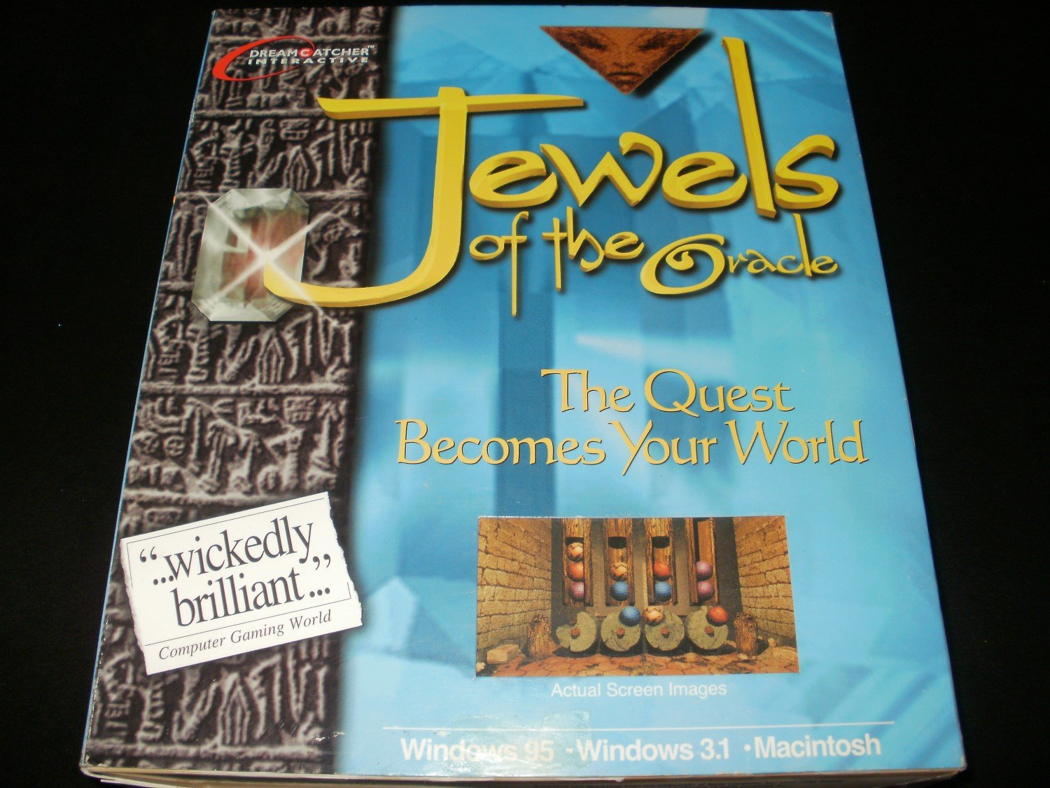 Jewels of the Oracle - 1996 DreamCatcher Interactive - Windows PC & Apple Macintosh - Complete CIB
