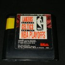 Lakers Versus Celtics and the NBA Playoffs - Sega Genesis