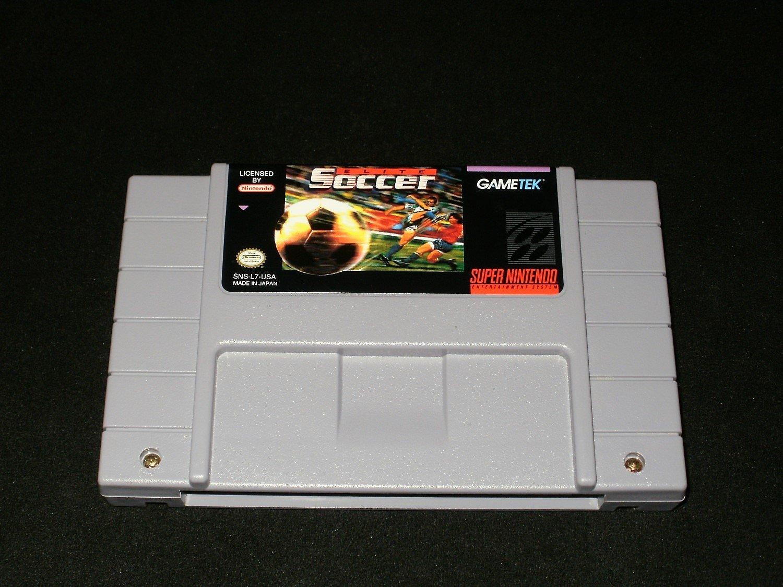 Elite Soccer - SNES Super Nintendo - Rare