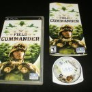 Field Commander - Sony PSP - Complete CIB