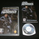 Syphon Filter Logan's Shadow - Sony PSP - Complete CIB