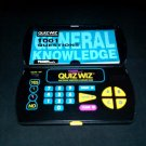 Quiz Wiz - Vintage Handheld - Tiger Electronics 1993 - With General Knowledge Book & Cartridge
