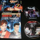Resident Evil CODE Veronica X - Sony PS2 - Complete CIB - Resident Evil 5th Anniversary Edition