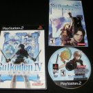 Suikoden IV - Sony PS2 - Complete CIB