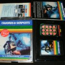 Swords and Serpents - Mattel Intellivision - Complete CIB - Rare