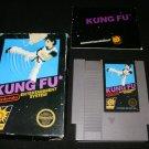 Kung Fu - Nintendo NES - Complete CIB - 5 Screw Hang Tab Version